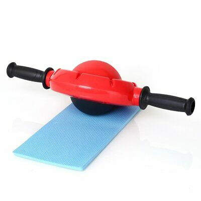 Fitness Ab Carver Pro Exercise Wheel Roller Abs Gym Automatic Springback 360°