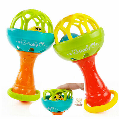 Infant Baby Ball Toy Hand Bell Rattles Develop Baby Intelligent Educational Toys