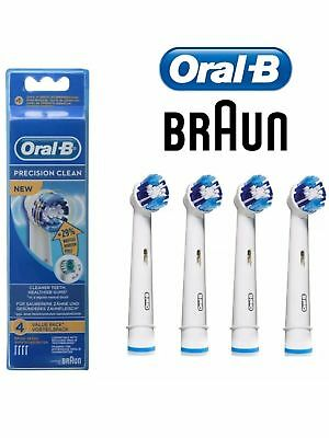 Oral-B Precision Clean Replacement Brush Heads | Powered by Braun EB20-4