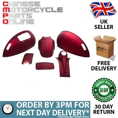 Matt Red (WRL027) Panel Kit for FT50QT-27,FT125T-27 (FPK002)