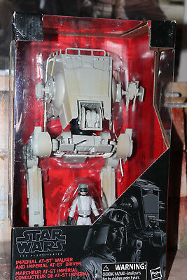 Imperial AT-ST Walker And Imperial AT-ST Driver Star Wars The Black Series 2017