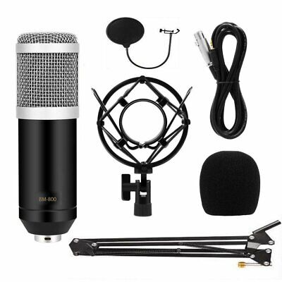 BM800 Condenser Microphone Kit Studio Suspension Boom Scissor Arm Sound Stand