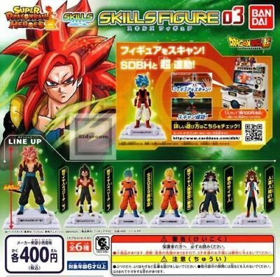 Dragon Ball Heroes Skills 03 Gashapon Bandai New