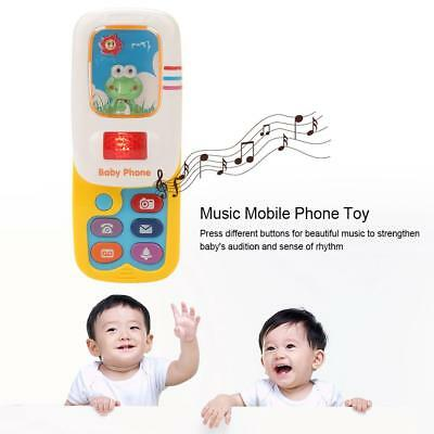 Baby Kids Children Cute Musical Cell Phone Fun Learning Educational Toy Gift New