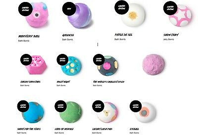 Lush Bath Bomb Limited Editions Sale On Now - Blind Buy Including Wrapping