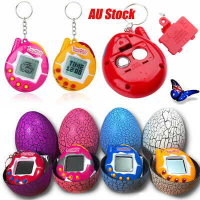 Tamagotchi Connection Virtual Cyber Pet Retro Toy Gift Keyring Toys&Eggshell AU