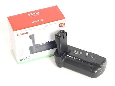 Canon BG-E4 Battery Grip for EOS Cameras + Battery Magazine BGM-E2 (3571R)