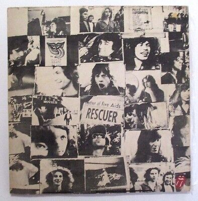 The Rolling Stones - Exile On Main Street - Ultra Rare Aussie 1972 Reverse Cover