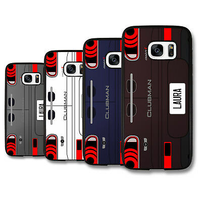Personalized F54 Initial Name Car Plate Deluxe Phone Case Cover Skin for Samsung