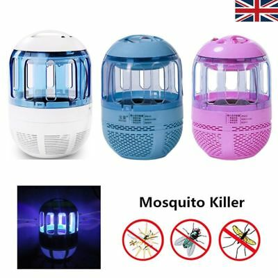 USB Electric LED Light Mosquito Killer Fly Bug Insect Zapper Trap Catcher Lamp