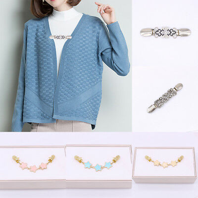 Women Duck Clips Alloy Clip Cardigan Sweater Shirt Collar Shawl Duck Clips Gift