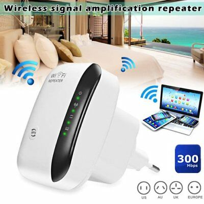 300 MBPS Wifi routeur repeteur amplificateur sans fil Wireless Signal Booster EU