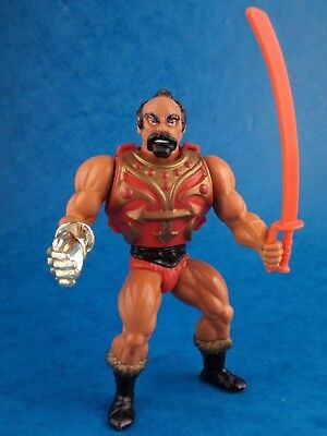 Vintage Motu MASTERS OF THE UNIVERSE - JITSU 1983 Action Figure Toy Retro