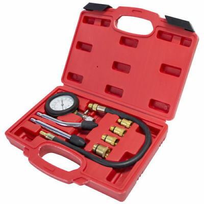 Automotive Petrol Engine Compression Tester Kit Valve Timing Gauge Cylinder 2905