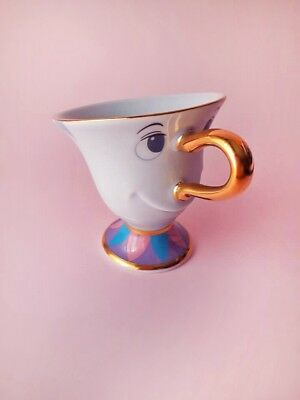CHIP tea cup Beauty and the Beast - TOKYO Disney land EXCLUSIVE authentic NEW