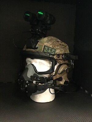 Crye Precision AirFrame style AIRSOFT / COSPLAY Helmet, HALO / HAHO Setup