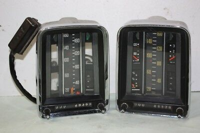 Lot De 2 Compteurs Vdo 12V...mercedes W110/111