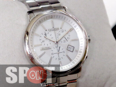 Citizen Eco Drive Stainless Steel Men's Watch AT0490-54A