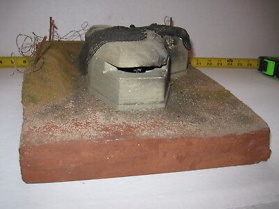 "World in War - 1/35 ?  Resin Model Ruins ""GERMAN Bunker"" WW2 , GREAT DETAIL"