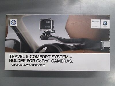 Brand New Genuine BMW GoPro Camera Headrest Holder Mount 51952405468
