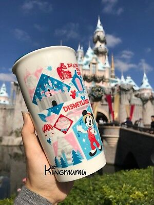 Disney Parks Disneyland Starbucks Attractions Icons Travel Tumbler To Go Mug