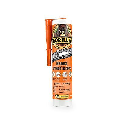 Gorilla Grab Heavy Duty Strong 3x 290 ml Adhesive Professional Glue Tile/Glass