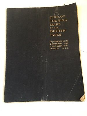 Dunlop Touring Maps Of The British Isles WD.J.Burrow