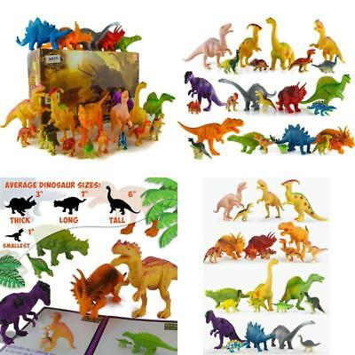 24 Jurassic Dinosaur Toys For 3 4 5 6 7 year old Boys Girls Toddlers Kids