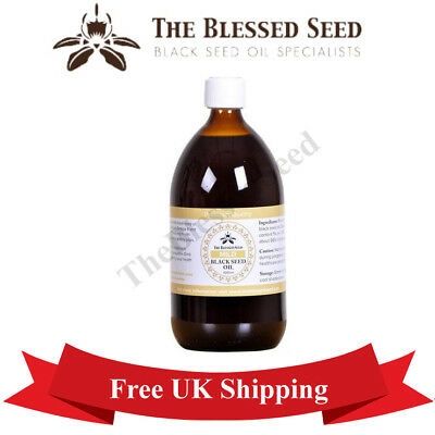 Black seed oil Mild Premium Quality 100% Pure & Correctly Cold Pressed - 1L