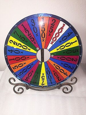 """TWO Slot Machine """"Wheel of Fortune"""" type of wheels"""