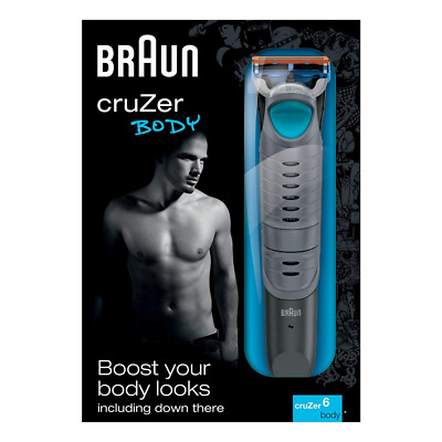 Braun CruZer6 Body Trimmer with Gillette Fusion Razor Blade