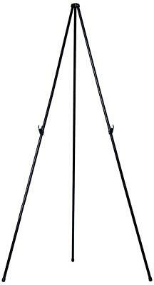 """MasterVision Instant Display Easel Heavy Duty, Extends to 63"""" Tall, Black Frame"""