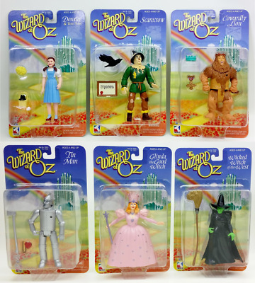 1998 Complete Trevco The Wizard Of Oz 6 Character Figurine Set Mint NRFB