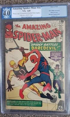 The Amazing Spider-Man #16 PGX 4.0 Graded Early Daredevil crossover