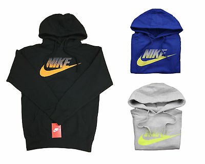 1662d7da4b53 Nike 823876 Mens AW77 Futura Long Sleeve Pullover Hoodie Hooded Sweatshirt