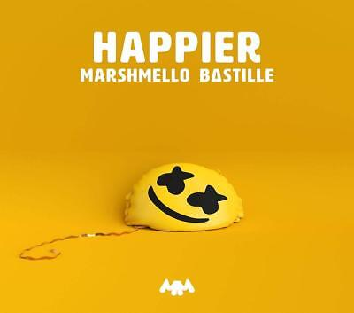 Bastille Marshmello - Happier (2-Track)   Cd Single Neu