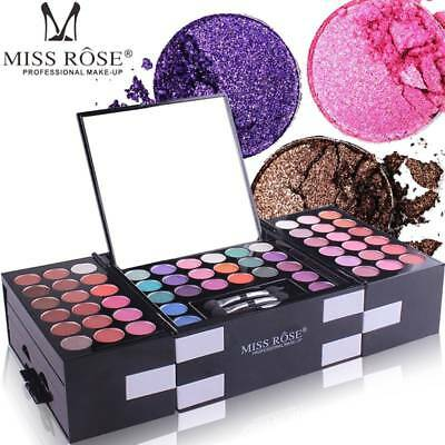 MISS ROSE 142 Colors Eyeshadow Palette Beauty Makeup Shimmer Makeup Kit Cosmetic
