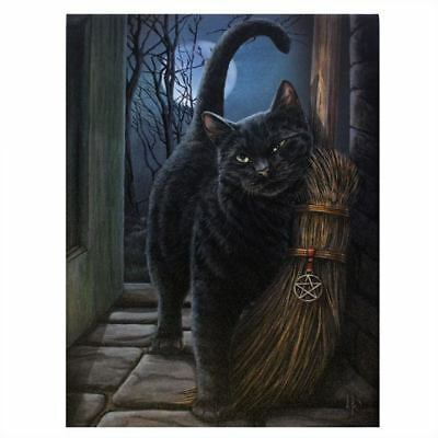 BNIB The Witching Hour Dream Catcher Lisa Parker Black Cat Dreamcatcher