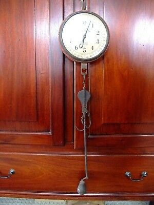 CHATILLON Vintage Antique Hanging Scale COLLECTOR TAKE A LOOK 20 X 1OZ RARE FIND