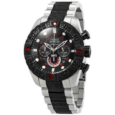 Invicta Marvel Chronograph Black Dial Two-Tone Men's Watch 25984