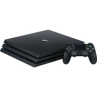 Brand New Sony PlayStation 4 Pro 1 TB Gaming Console - Black