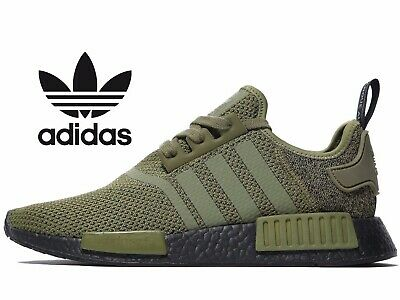 ?? AUTHENTIC ADIDAS Originals NMD R1 ® (Men UK 7 12 ) Olive Green Khaki Cargo