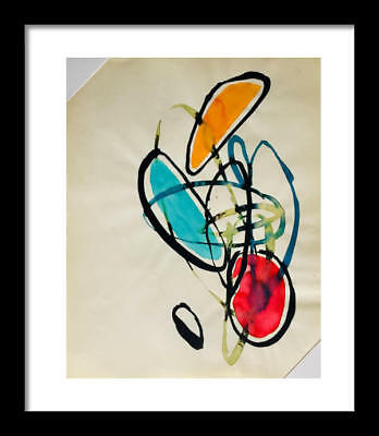 Hygge Ease Original Abstract Watercolor Signed Painting Christmas Gift