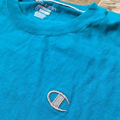VTG Champion Mens Reverse Weave Crewneck T-Shirt XL Large Supreme Logo  Spell Out 65714cfcd564