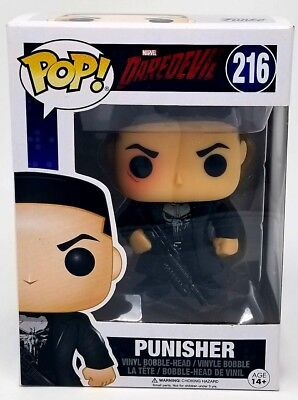 Funko POP Vinyl 216 Punisher from Daredevil!