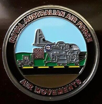 Military Challenge coin. RAAF Tankers and Air Movements.