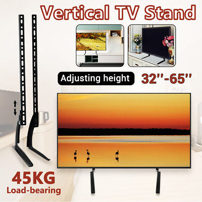 """LCD LED 32-65"""" TV Stand Heavy-Duty Bracket 45kg Various Adjustable Support-2019"""