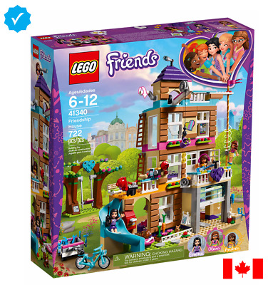 LEGO FRIENDS - Friendship House (SHIPS DEC 10 via Fedex 4 Day)