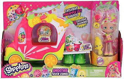PARTY PRESENTS BULK BUY: Shopkins: Pineapple Lily and Her Smoothie Truck RRP$250
