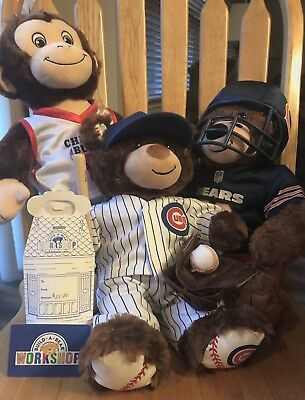 Build-A-Bear AND $25 Gift Card/Chicago Sports Teams!!!!